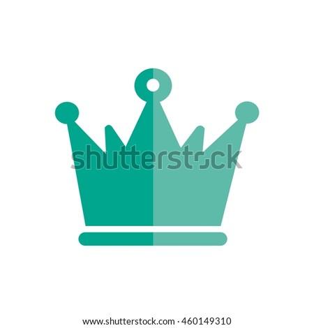 Crown Logo King Royal Queen Symbol Stock Vector 460149310 Shutterstock