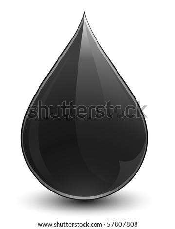 Crude oil - stock vector
