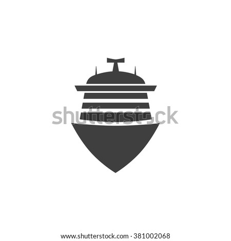 Cruise Icon, Cruise Icon Eps10, Cruise Icon Vector, Cruise Icon Eps, Cruise Icon Jpg, Cruise Icon Picture, Cruise Icon Flat, Cruise Icon App, Cruise Icon Web, Cruise Icon Art, Cruise Icon Object - stock vector