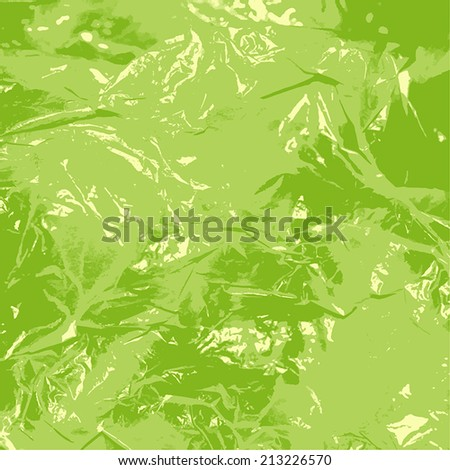 Crumpled Paper color texture for your design. EPS10 vector.