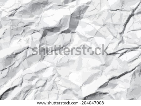 crumpled paper  Texture. illustration