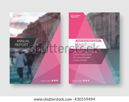 Crystal modern annual report flyer Brochure leaflet, the presentation cover, magazine advertising. cover with an abstract background. vector template layout of A4 format - stock vector