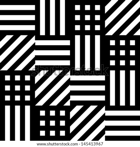 Cube and Stripes