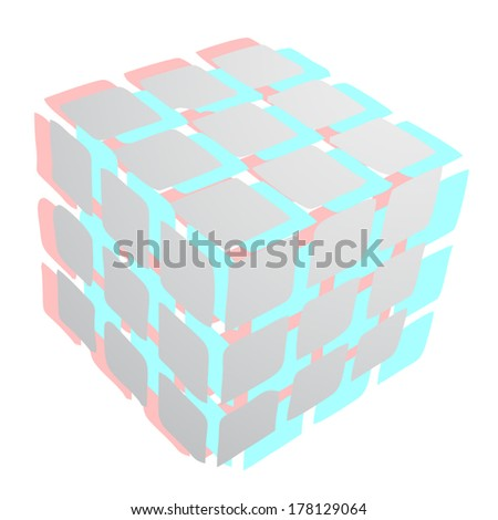 Cube visual effect