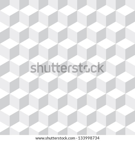 cubes seamless pattern background - stock vector