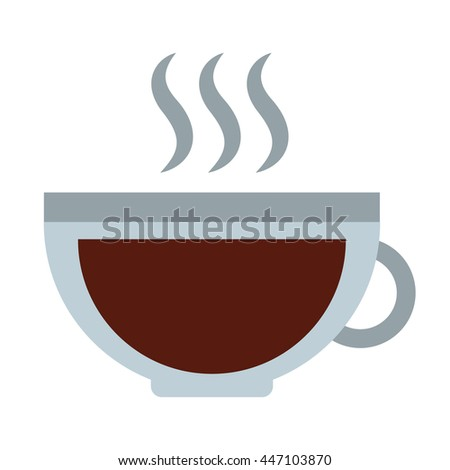 cup coffee isolated icon design, vector illustration  graphic