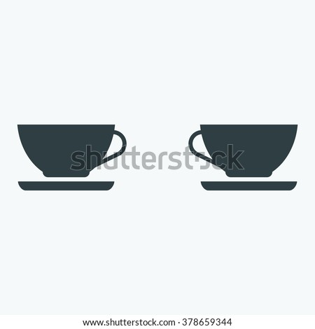 cup icon - stock vector