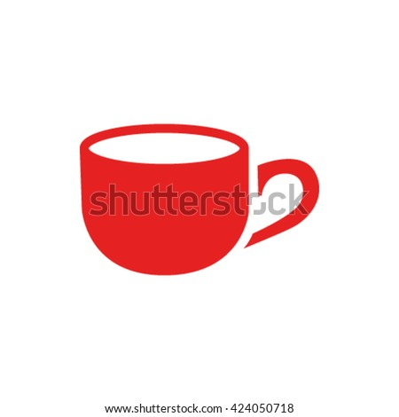 Cup icon stock vector illustration