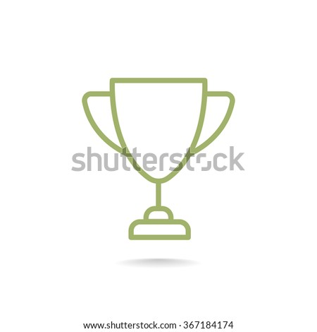 Cup, trophy, award, prize, champion icon