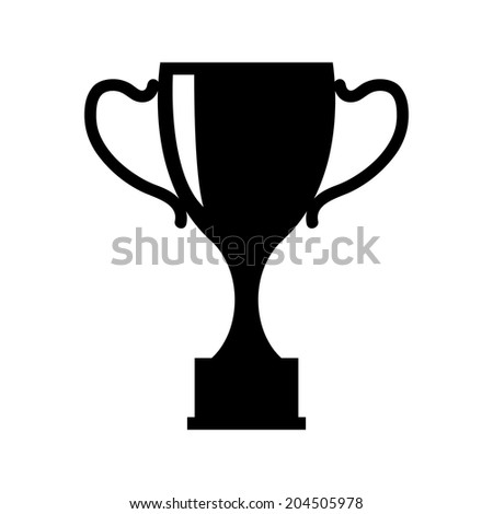 Cup vector illustration. Isolated on white background - stock vector