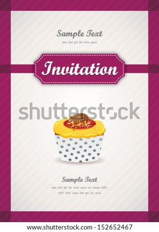 Cupcake background 09