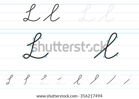 Cursive Letters Stock Images, Royalty-Free Images & Vectors ...