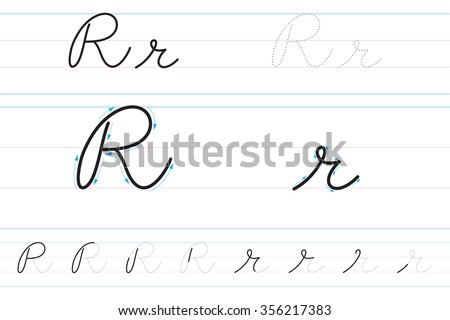 Number Names Worksheets how to write abc in cursive : Cursive Letters Stock Photos, Royalty-Free Images & Vectors ...