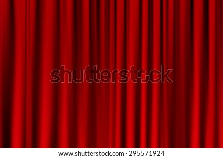 curtain or drapes red background. Eps10 vector for your design - stock vector