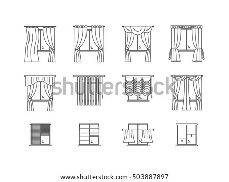 Roll Curtains Stock Images, Royalty-Free Images & Vectors ...