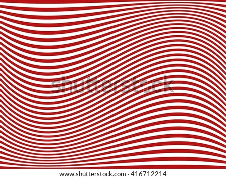 Curved Stripes. Abstract Stripes. Vector Stripes. Lines Stripes. Background Stripes. - stock vector