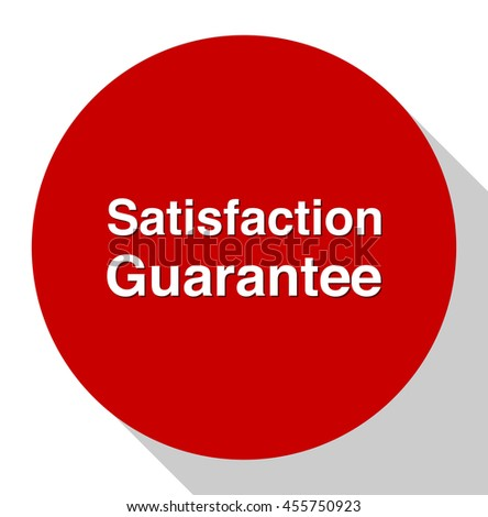 Customer satisfaction guarantee button