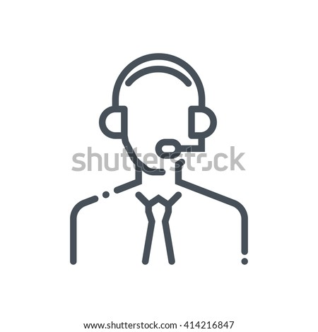 Customer Service Icon Stock Images, Royalty-Free Images & Vectors ...
