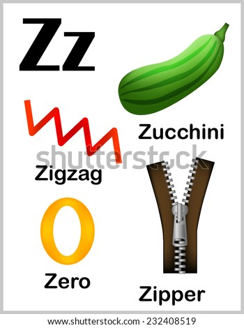 Objects That Begin With The Letter Z