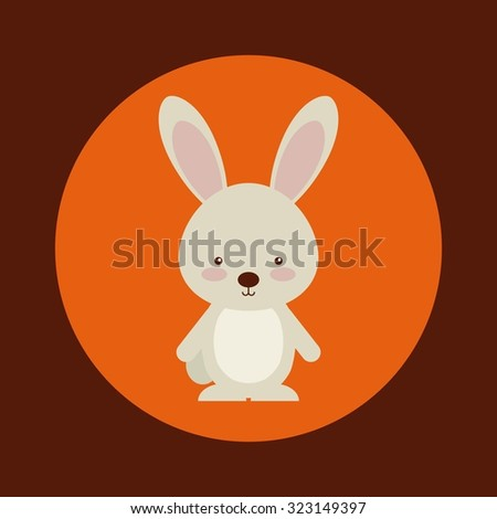 cute animal fall design, vector illustration eps10 graphic