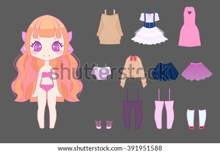 Chibi Stock Images Royalty-Free Images U0026 Vectors | Shutterstock