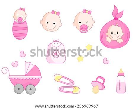 Baby Faces Stock Vectors, Images & Vector Art   Shutterstock