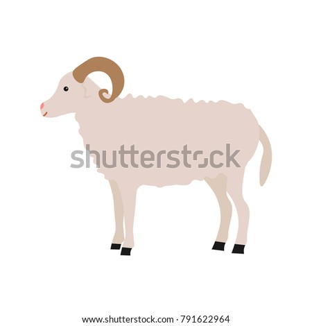 Charging ram cartoon