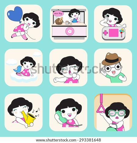 Cute icons for teens