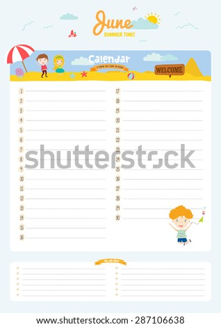 RuslanaVasiukovaS Calendars  Set On Shutterstock