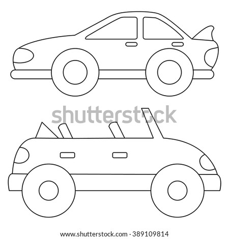 Car Coloring Pages Cartoon Royalty Free Stock Photos on bentley race car