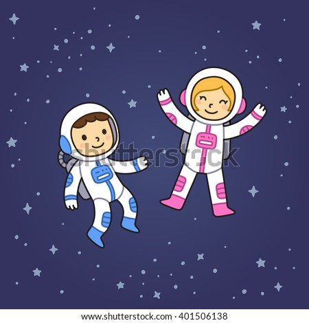 astronaut floating in space cartoon - photo #11