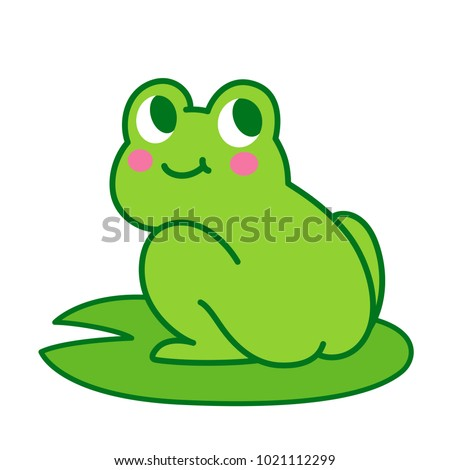cute cartoon frog butt drawing funny stock vector 1021112299 rh shutterstock com