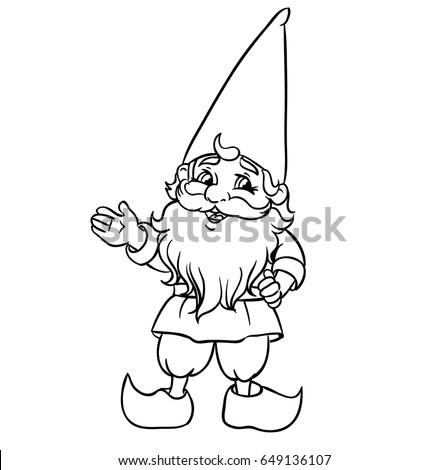 dwarf stock vectors, images & vector art | shutterstock - Hobbit Dwarves Coloring Pages
