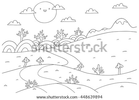 meadow animals coloring pages - photo#8