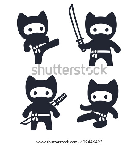 ninja cat coloring pages - photo#35