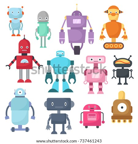 Robot Characters Stock Images, Royalty-Free Images ...  Robot Character...