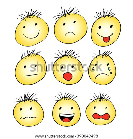 an analysis of smiley faces Faces: interpretation partly depends on whether the face represents the self or someone else the simple 'circle' face is a motif from early childhood, with a genuine 'smiley' suggesting a happy-go-lucky nature.