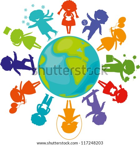Children Around The World Stock Images, Royalty-Free Images ...
