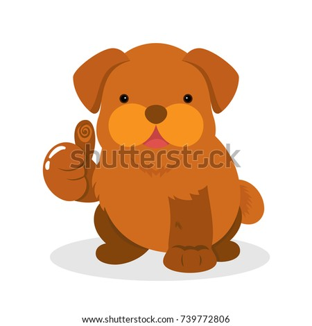 Download Brown Chubby Adorable Dog - stock-vector-cute-chubby-fat-brown-puppy-dog-giving-thumbs-up-sign-in-flat-style-common-hand-gesture-lovely-739772806  Snapshot_555989  .jpg