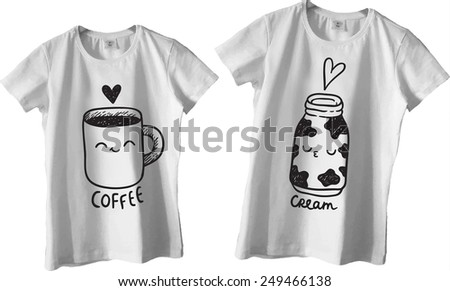 Doodle Designs For Shirts Design For Couple T-shirts