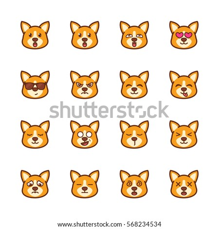 Cartoon Corgi Stock Images, Royalty-Free Images & Vectors ...