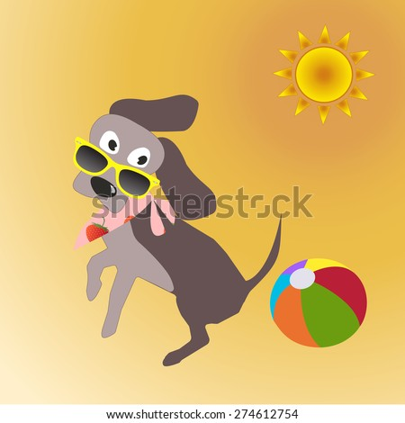 Happy Smiling Kid Flying Plane Like Stock Vector 296378288