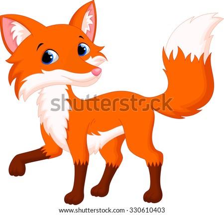 Fox cartoon stock images royalty free images vectors - Clipart renard ...