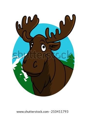 Alaska Moose Stock Ima...