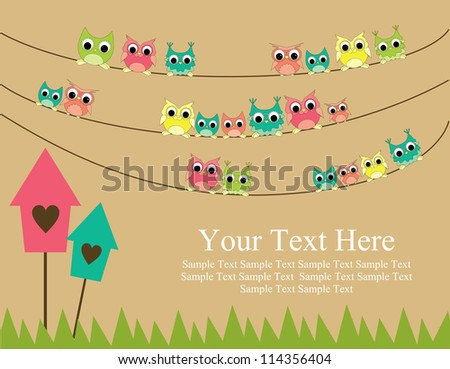 cute greeting card gesign. vector illustration