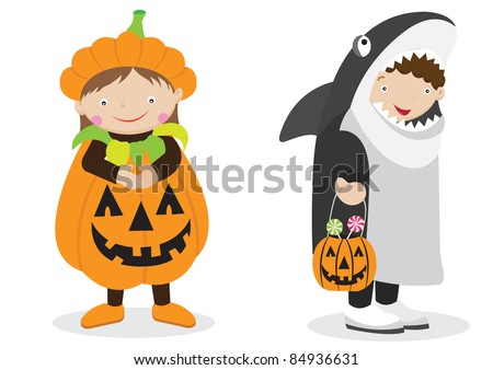 Cute Halloween Character and Costume