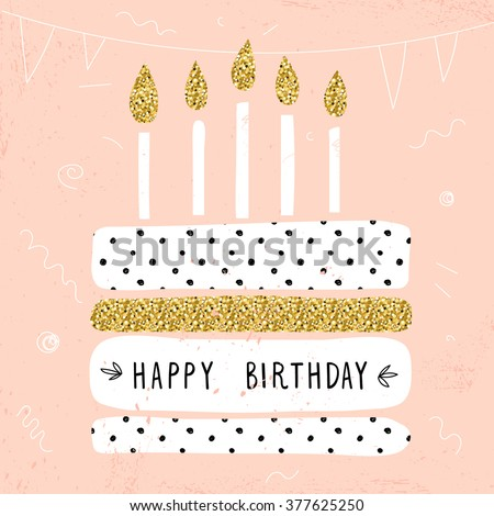 Happy Birthday Card Images RoyaltyFree Images Vectors – Cool Happy Birthday Cards