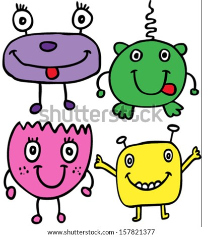 cute monster/T-shirt graphics/cute cartoon characters/cute graphics for kids/Book illustrations/textile graphic/graphic designs for kindergarten/cartoon character design/fashion graphic/cute wallpaper