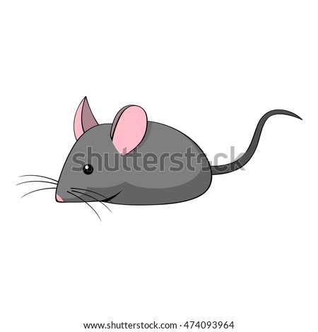 Cute Mouse Cartoon Stock Vector 300658880 - Shutterstock