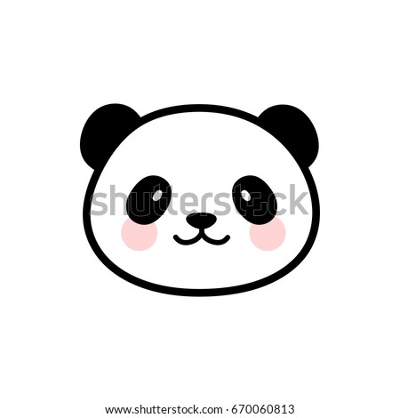 Panda Face Stock Images, Royalty-Free Images & Vectors ... - photo#13